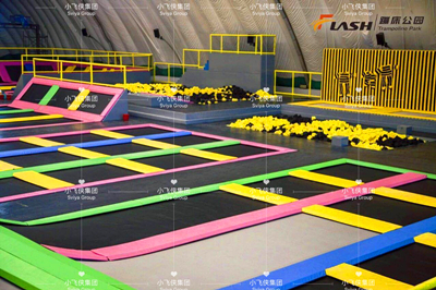 Process of Building a Trampoline Park
