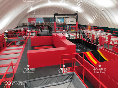Why not buy from trampoline park manufacturer directly