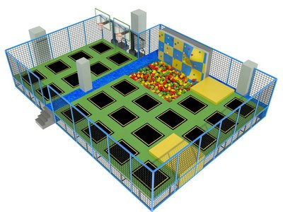 Dubai Hot Sale Outdoor Trampoline Park