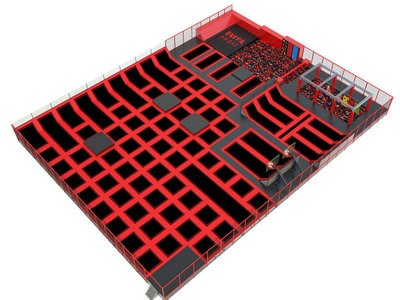 Flight Trampoline Park Manufacturer