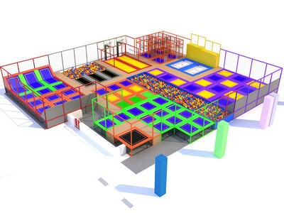 Urban Air Trampoline Park Manufacturer